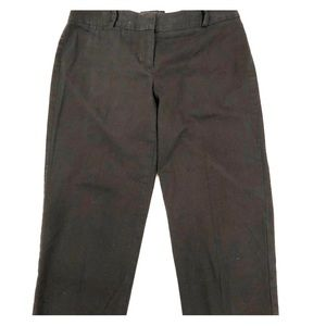 Talbots black signature cropped pants